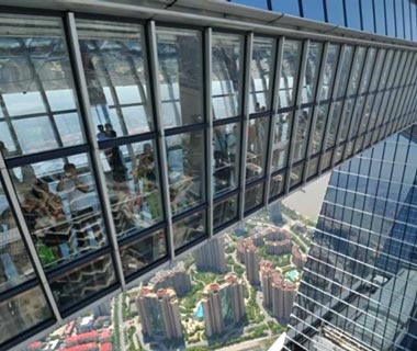 observation deck at world financial center
