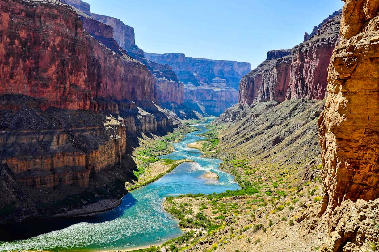 Grand Canyon river veiw