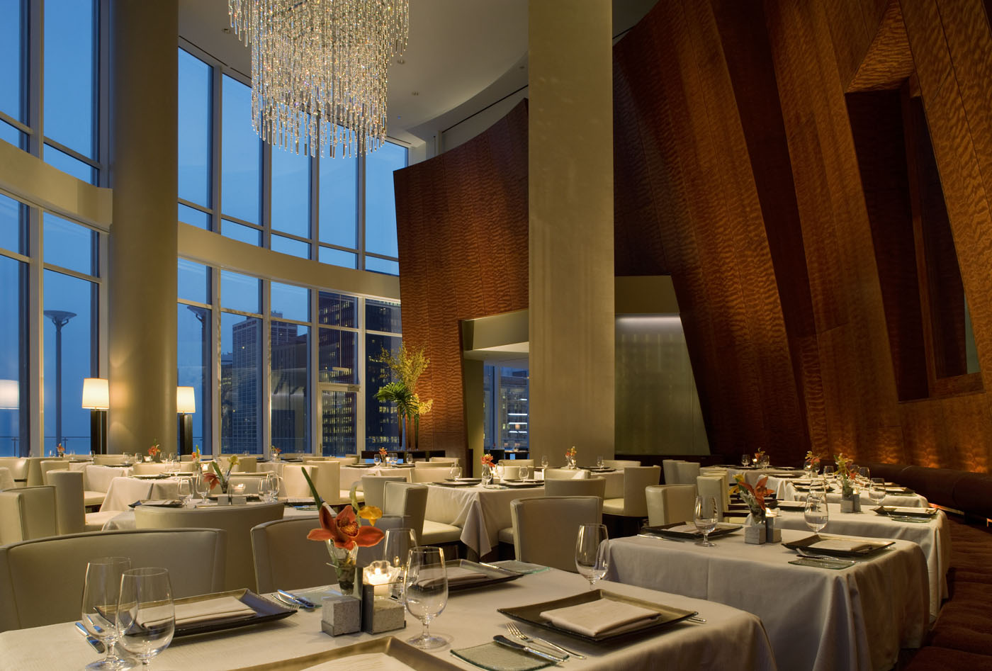Trump In Room Dining Chicago