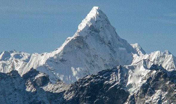 mount everest, the world's highest peak