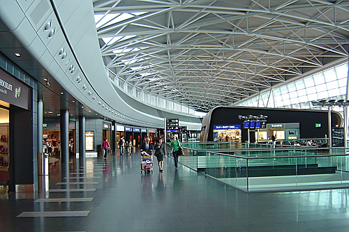 zurich airport inside