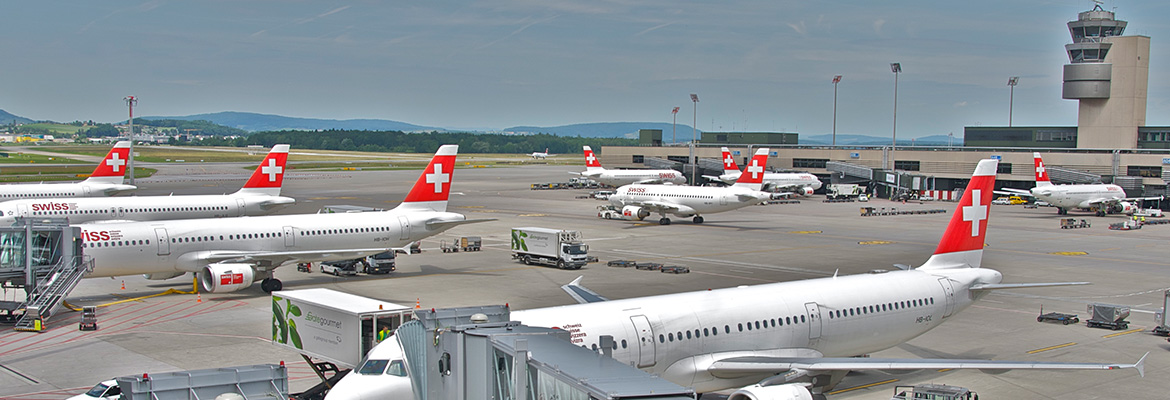 zurich airport view
