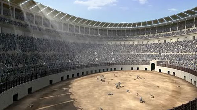 Colosseum gladiators