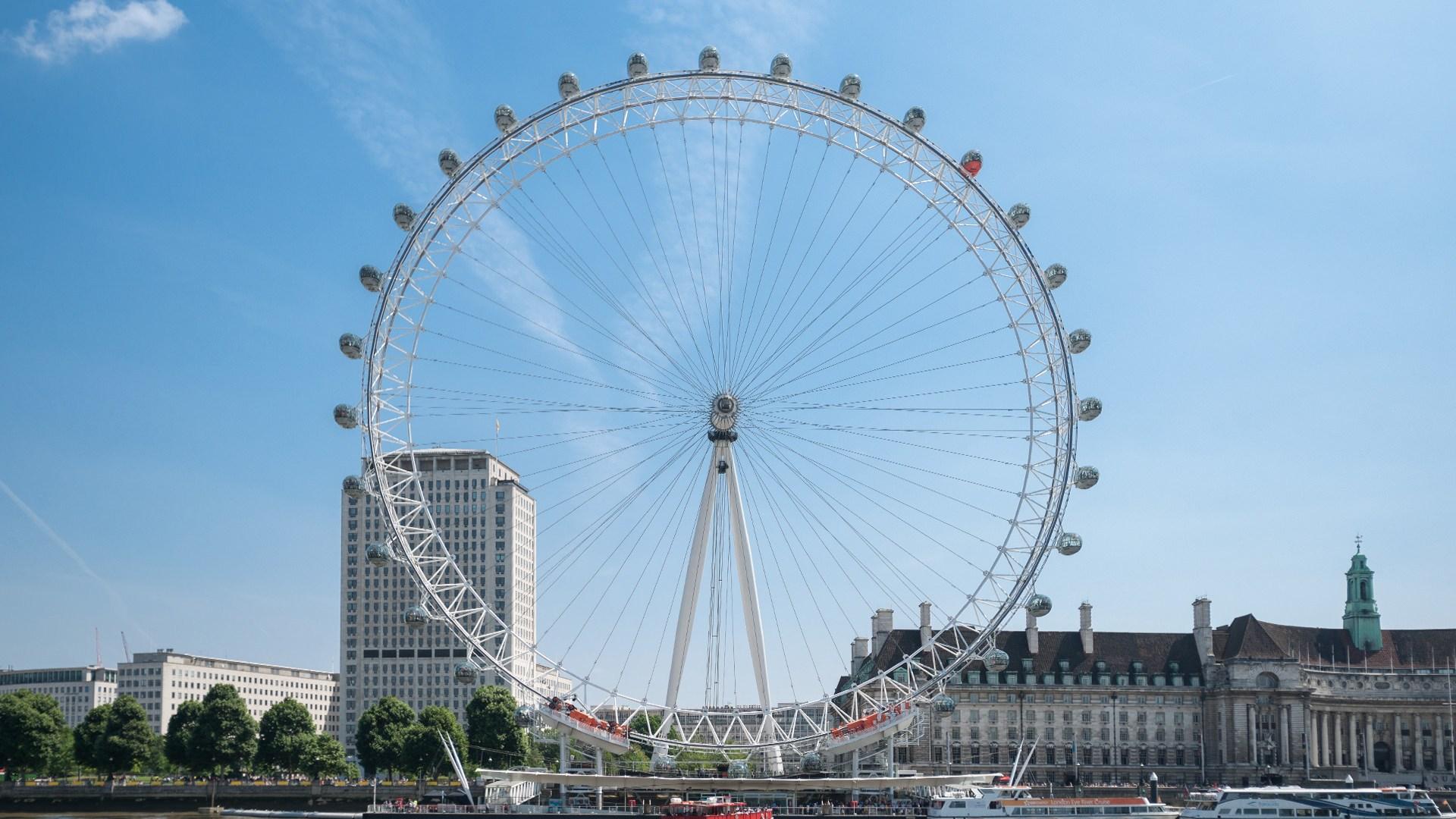 beautiful london eye