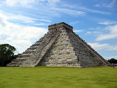 chichen itza of maxico