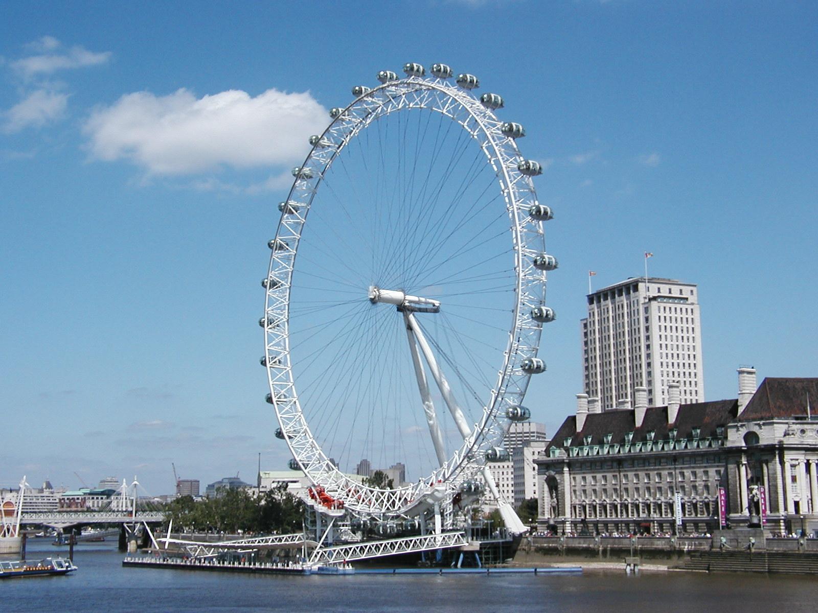 london eye from side
