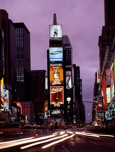 Times Square NYC at night