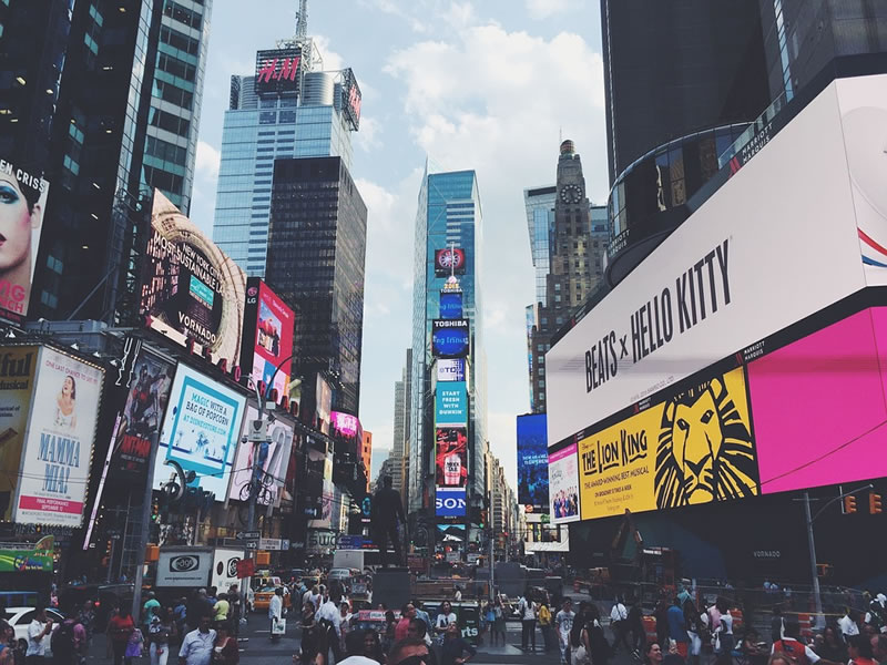 Times Square amazing view