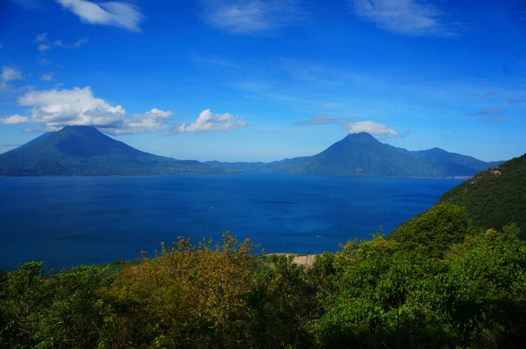 Lake Atitlan, Guatemala, Central America)