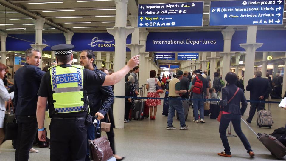 Eurostar security