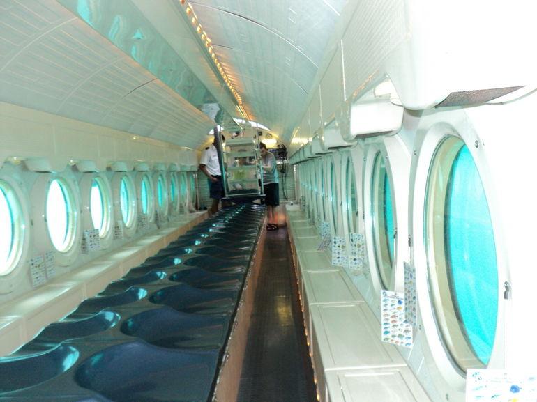 A submarine tour in Aruba
