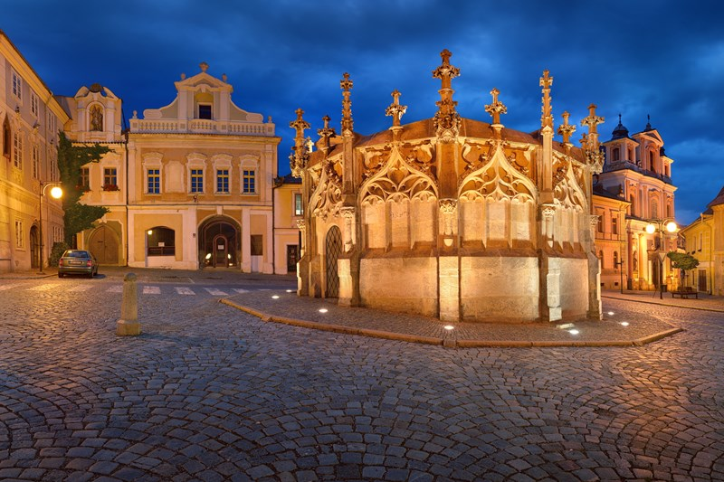Kutna Hora in Czech Republic
