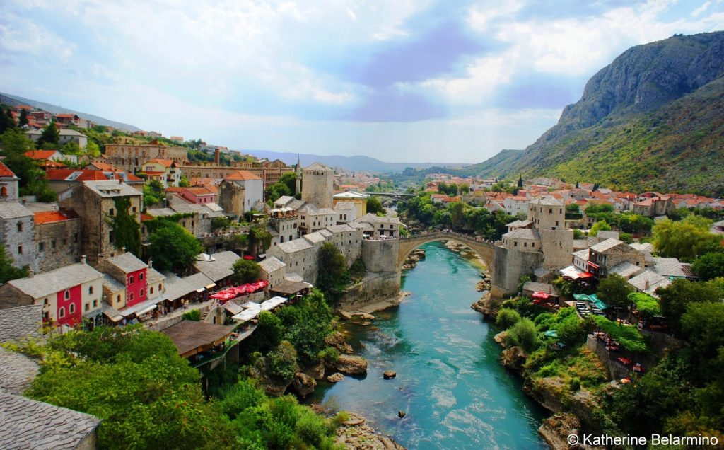 Mostar Bosnia and Herzegovina place