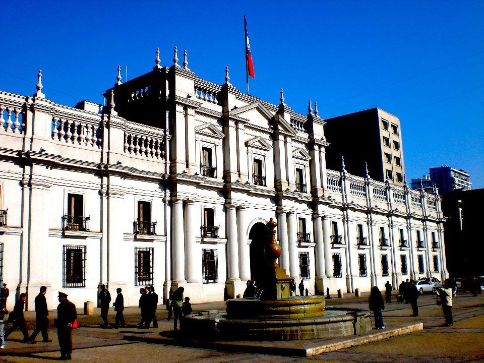 La Moneda Santiago city