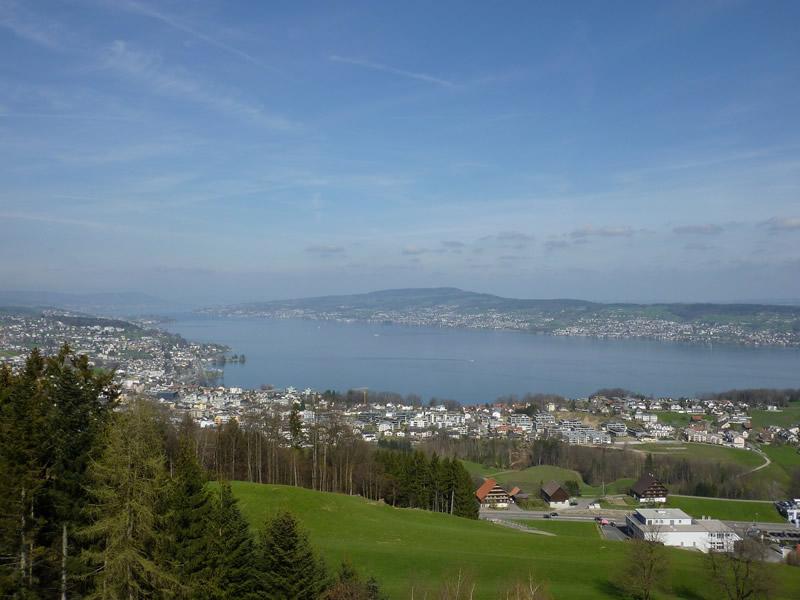 Lake Zurich amazing view