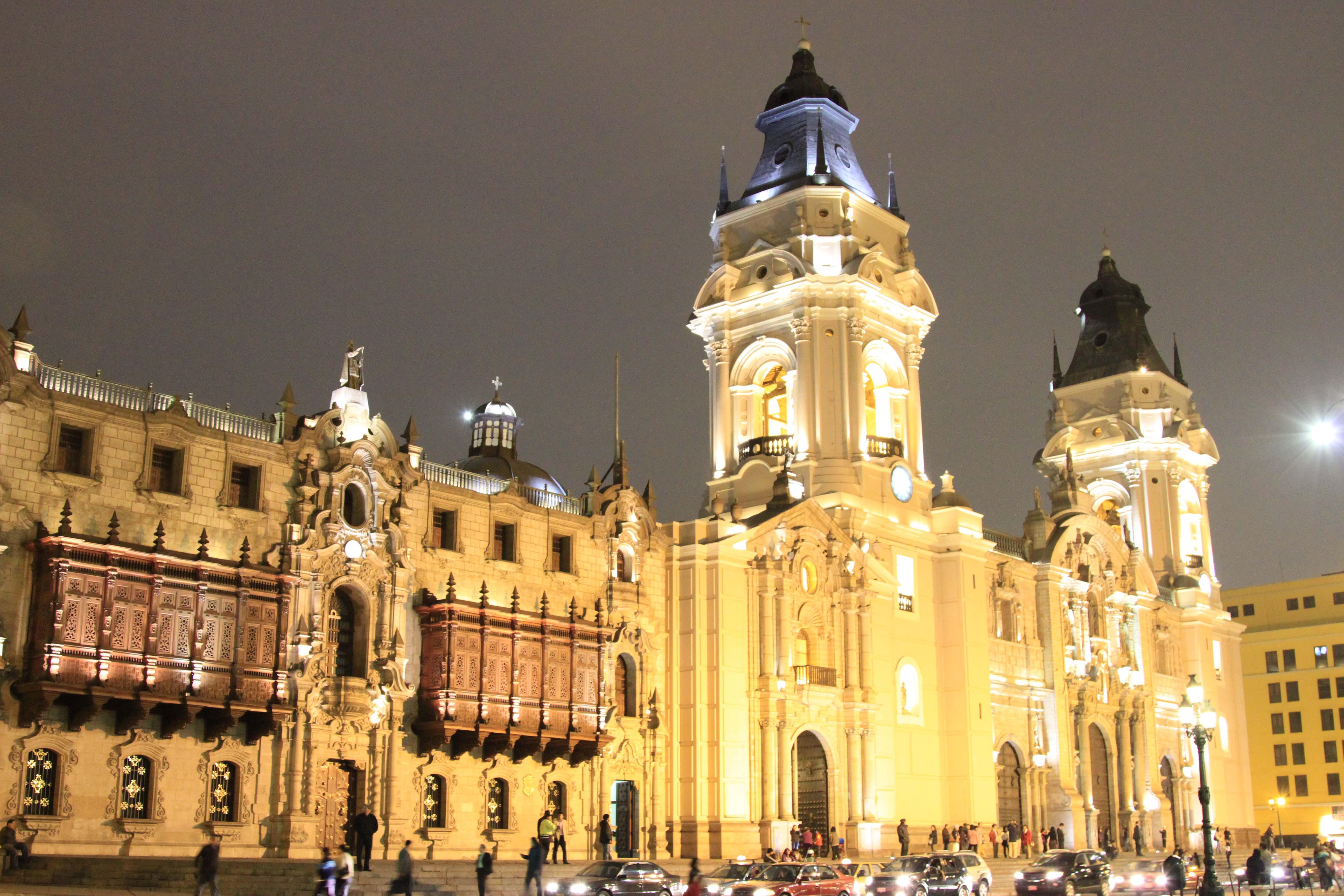 Lima-Peru-Down-Town