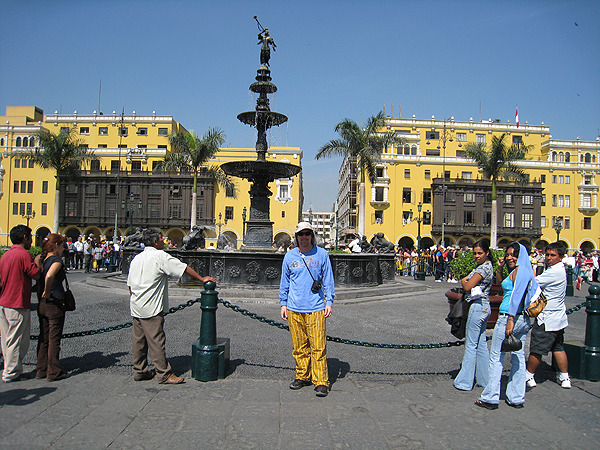 Lima Peru historic centre of lima