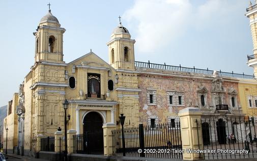 Lima-San-Francisco-Monastery