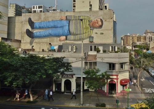 Walls of Lima Peru