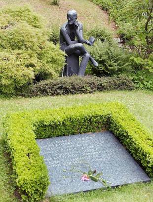 Fluntern Cemetery Zurich
