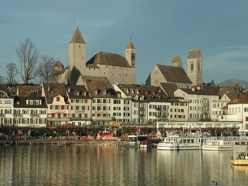 buildings near Lake Zurich