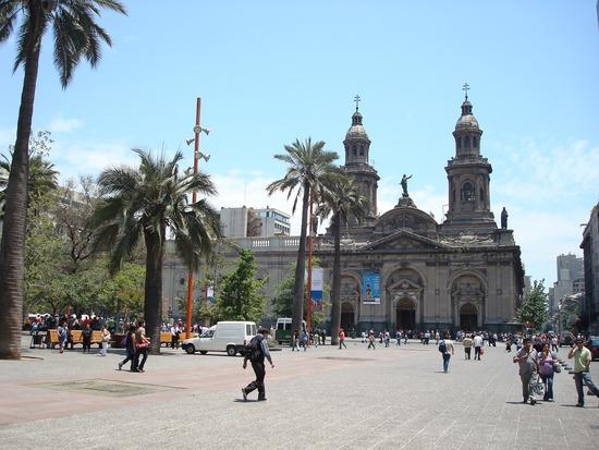 plaza-de-armas santiago chile