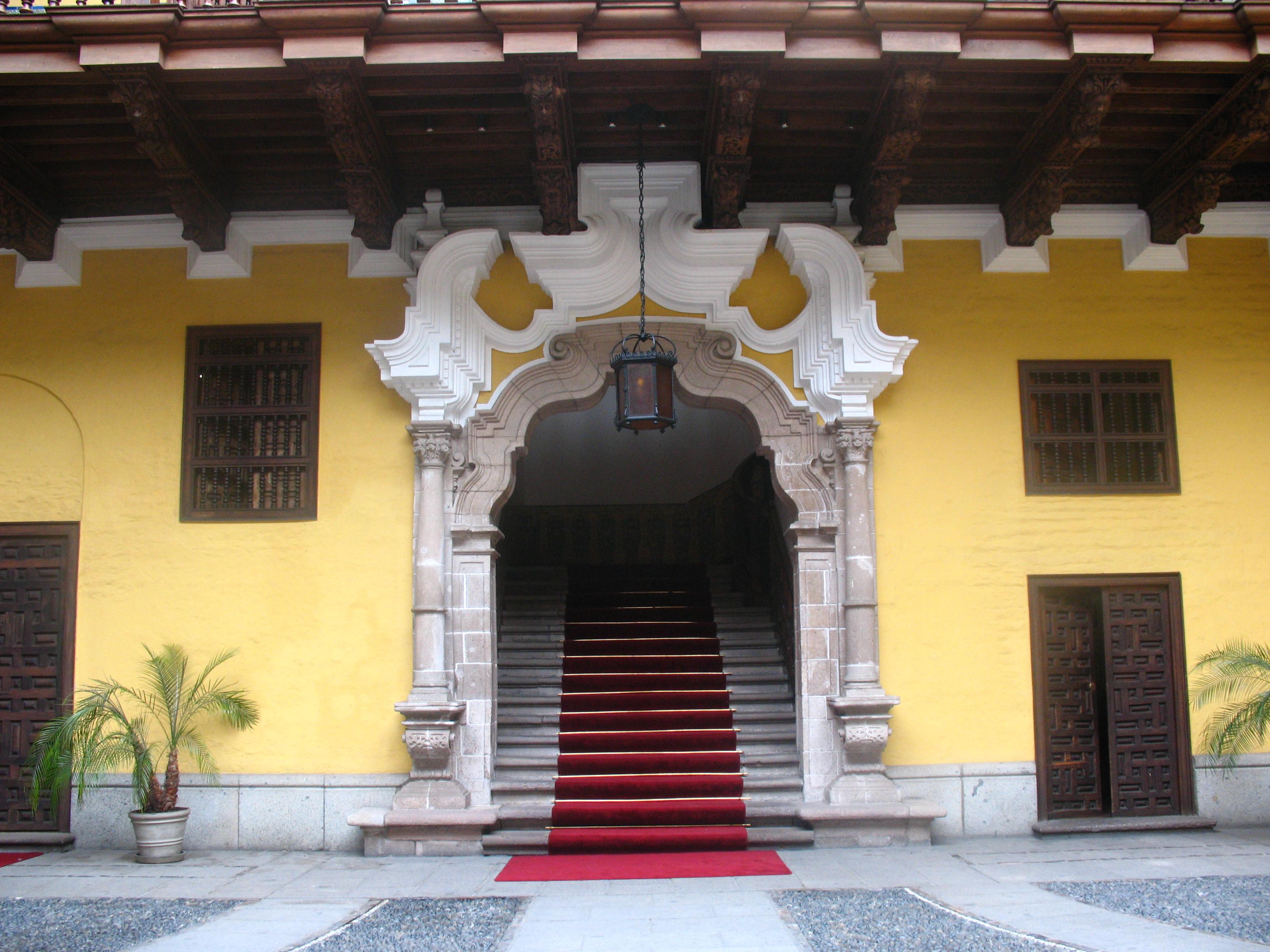 torre tagle palace lima