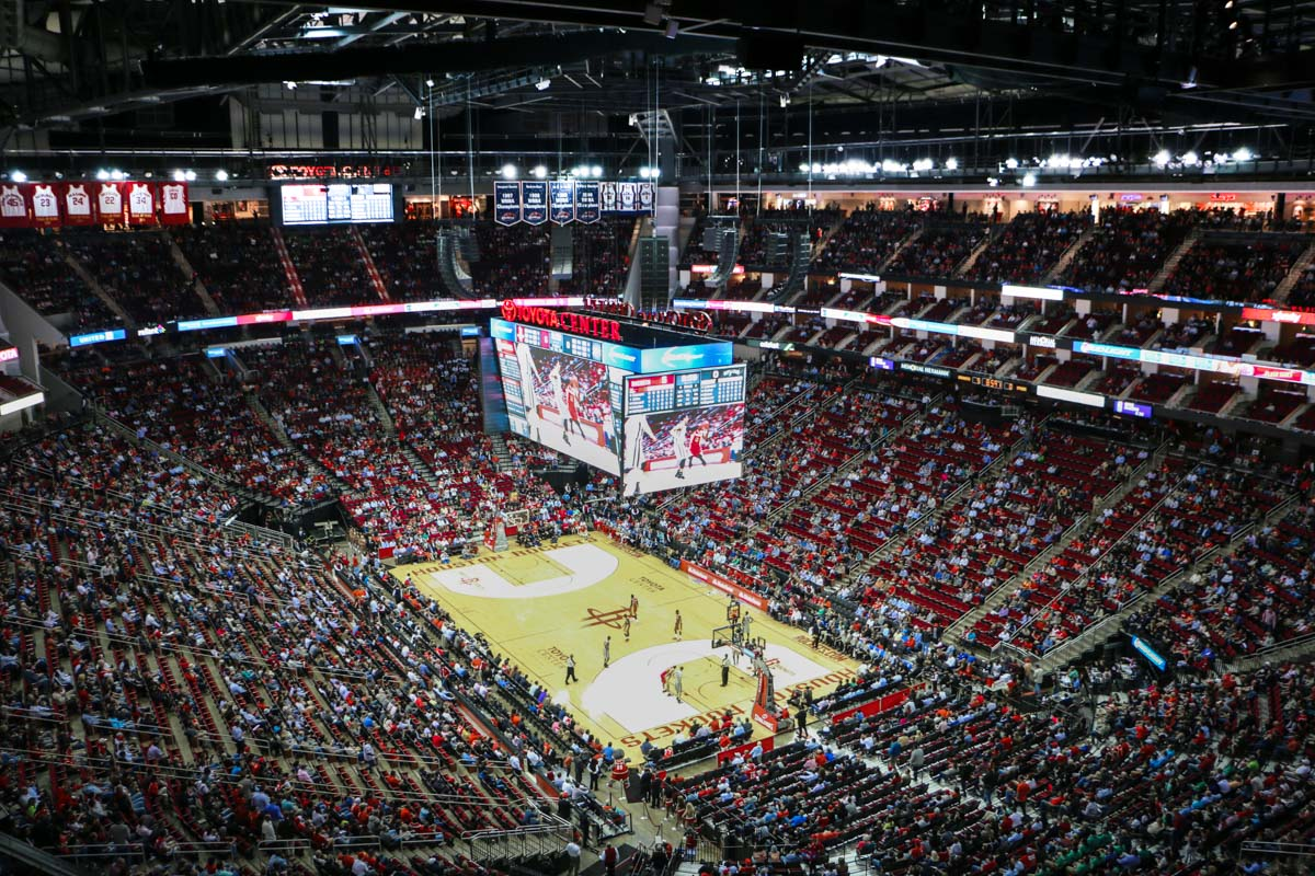 LD Systems Toyota Center LAcoustics
