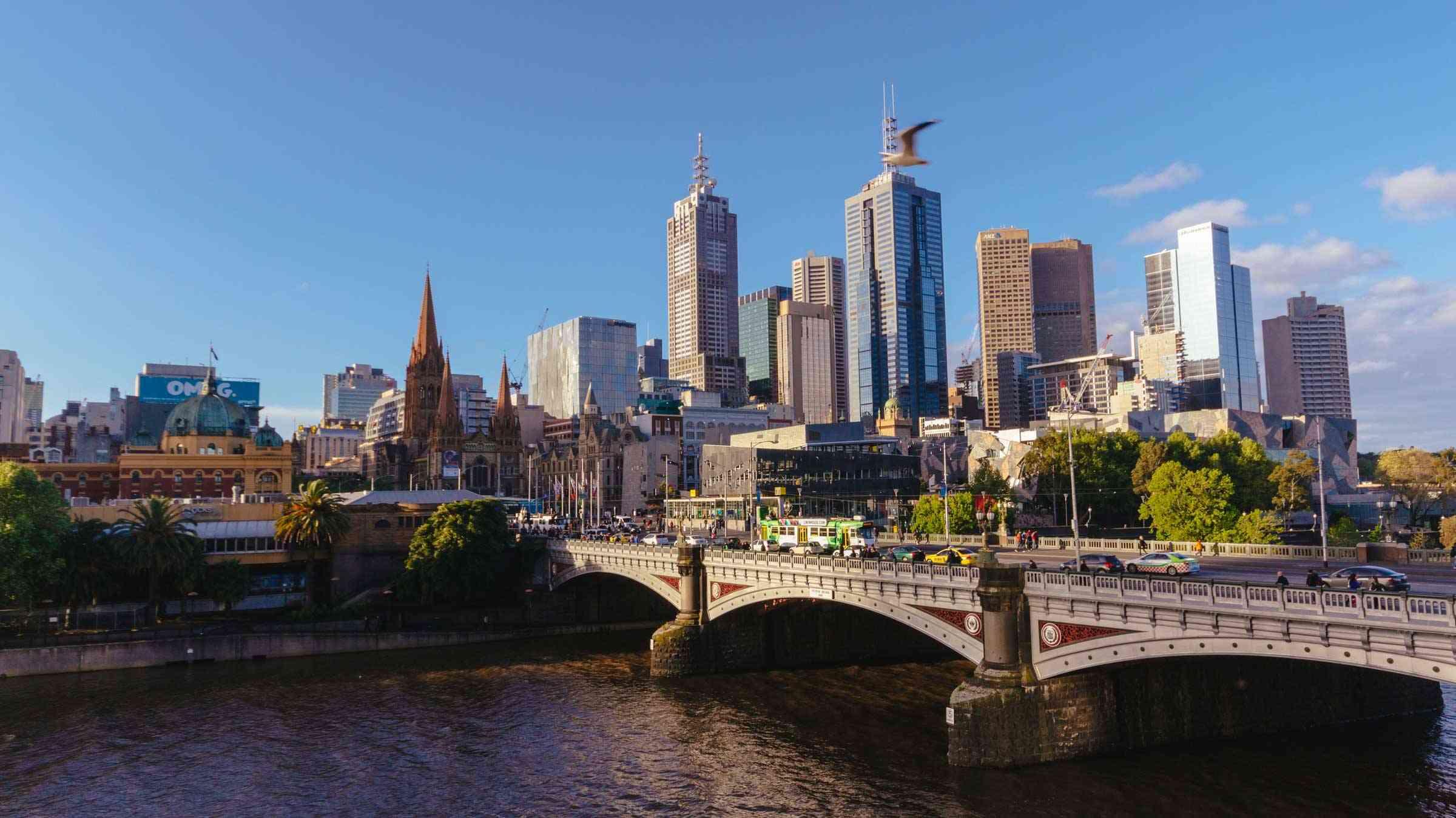 Melbourne River Australia