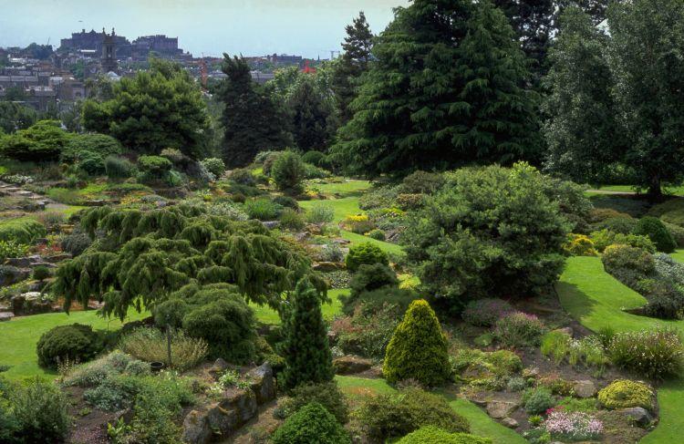 Scotland Royal Botanic Garden Edinburgh