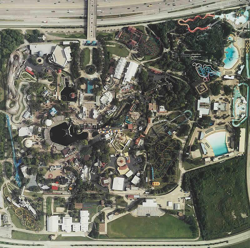 Six Flags Astroworld Houston Texas