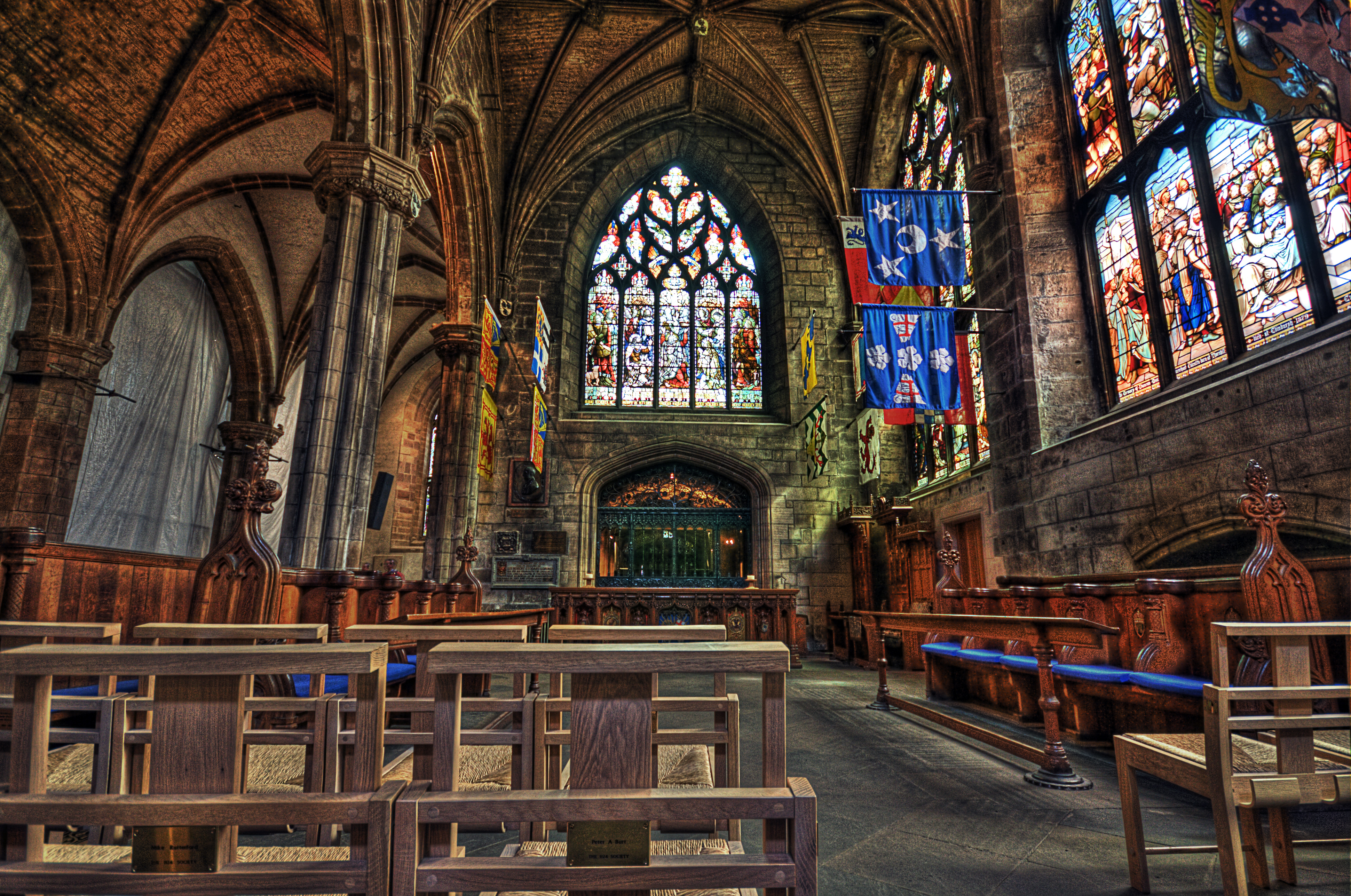 St.Giles Cathedral interior veiw