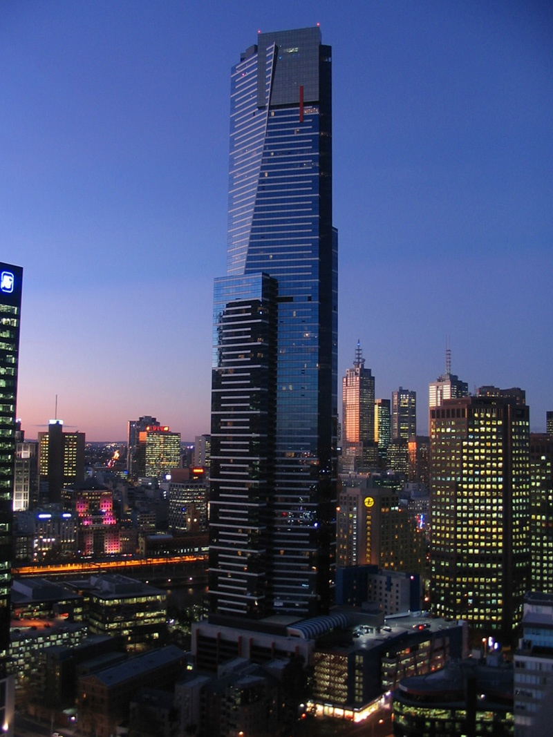 eureka Tower melbourne,Australia