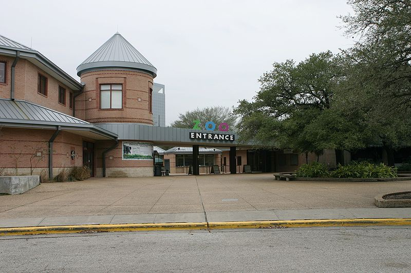 houston zoo exterior