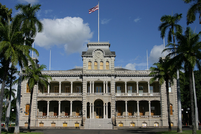 iolani palace honolulu, Hawaii