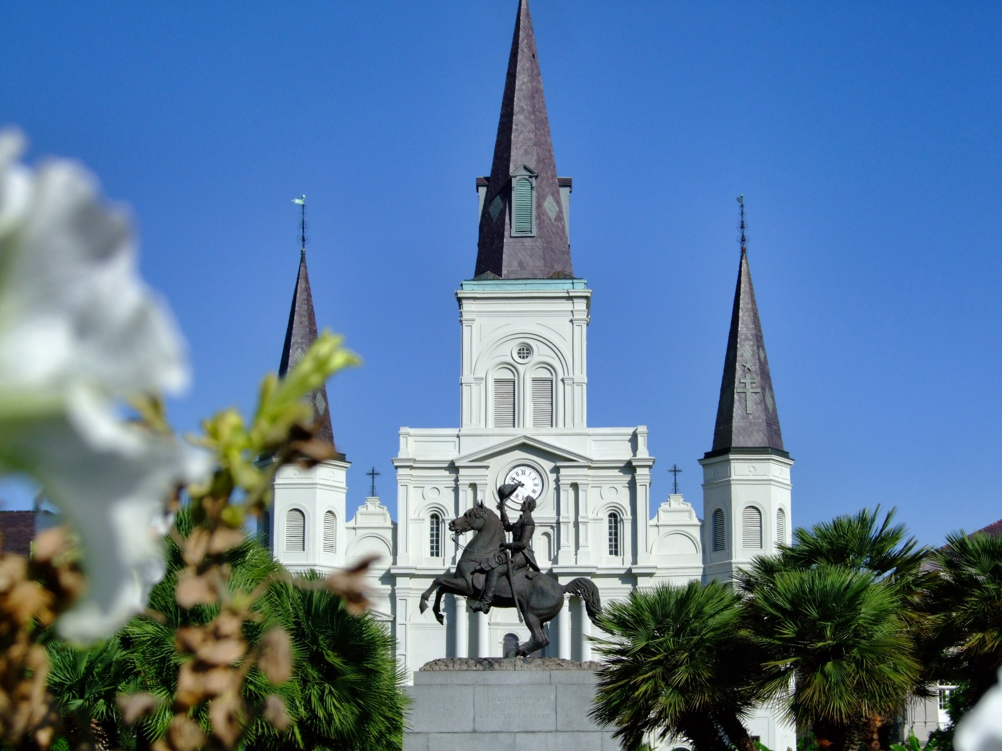 jackson square of new orleans