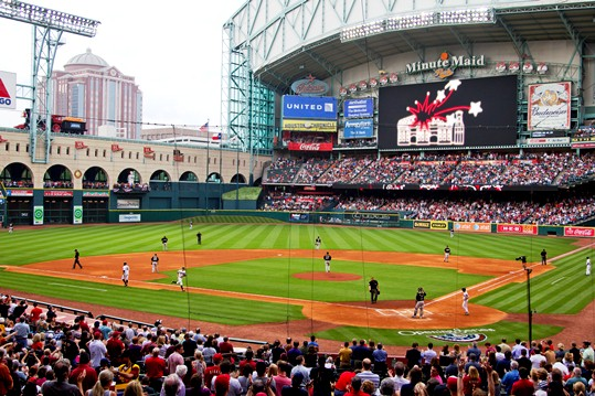 minute maid park houston texas