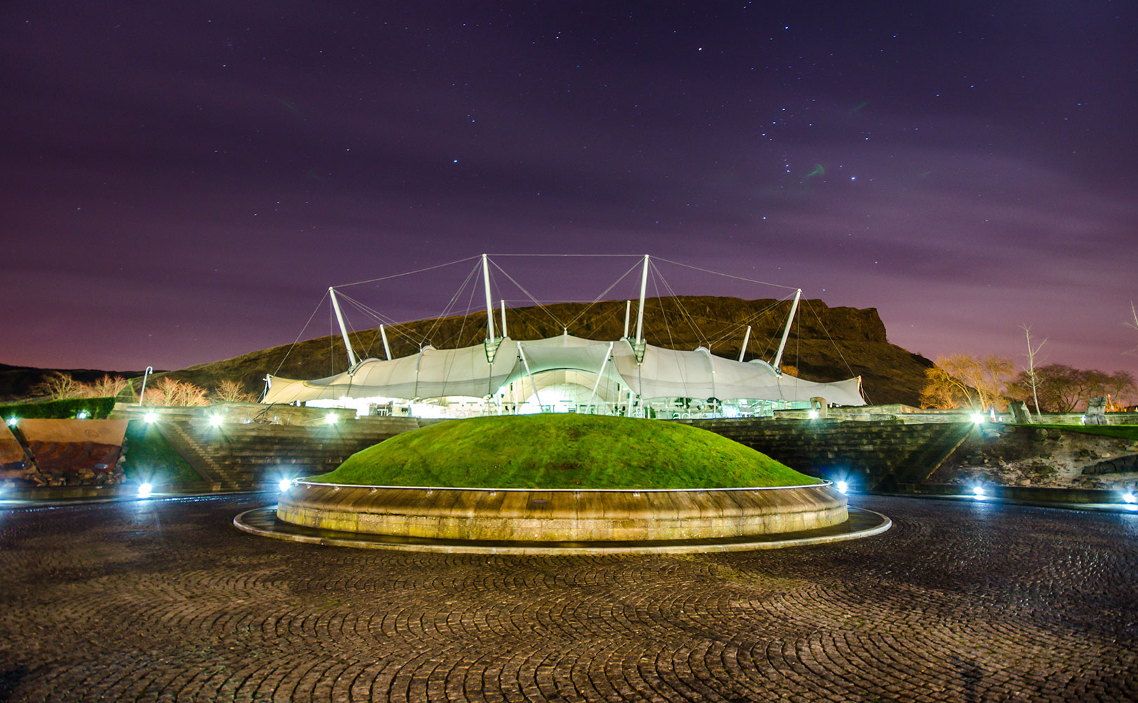 our dynamic earth at night