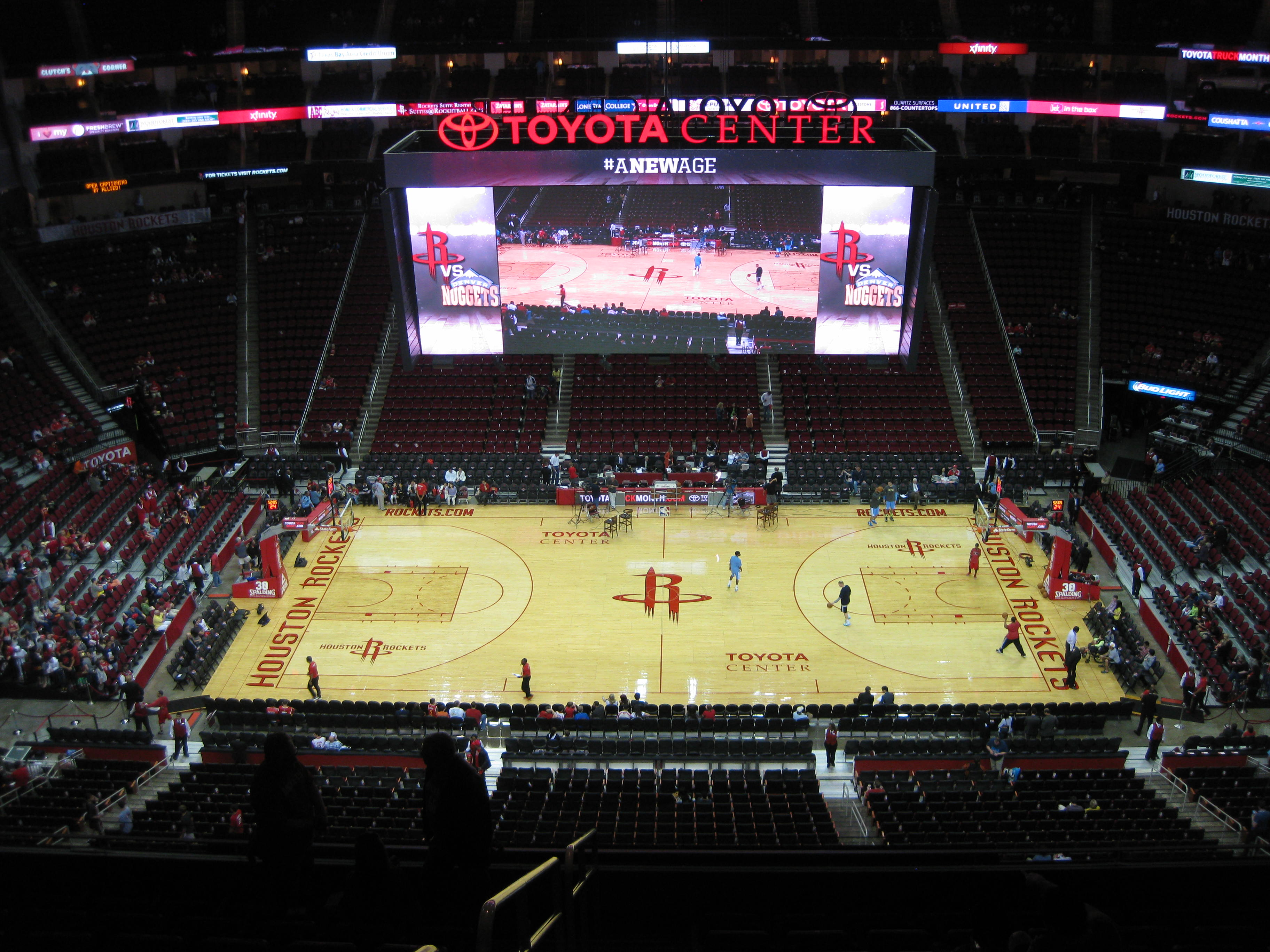 toyota center stadium