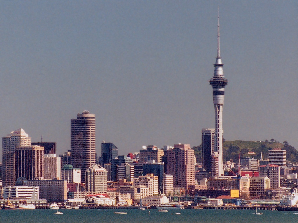 New Zealand Sky Tower Auckland