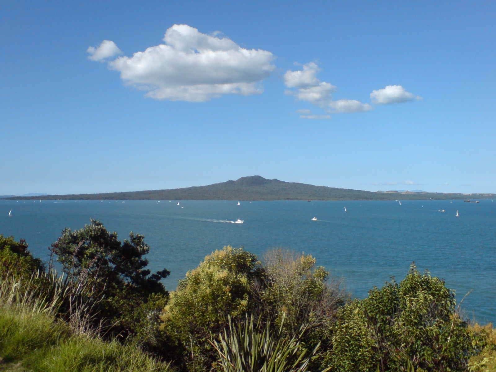 Rangitoto Island North head