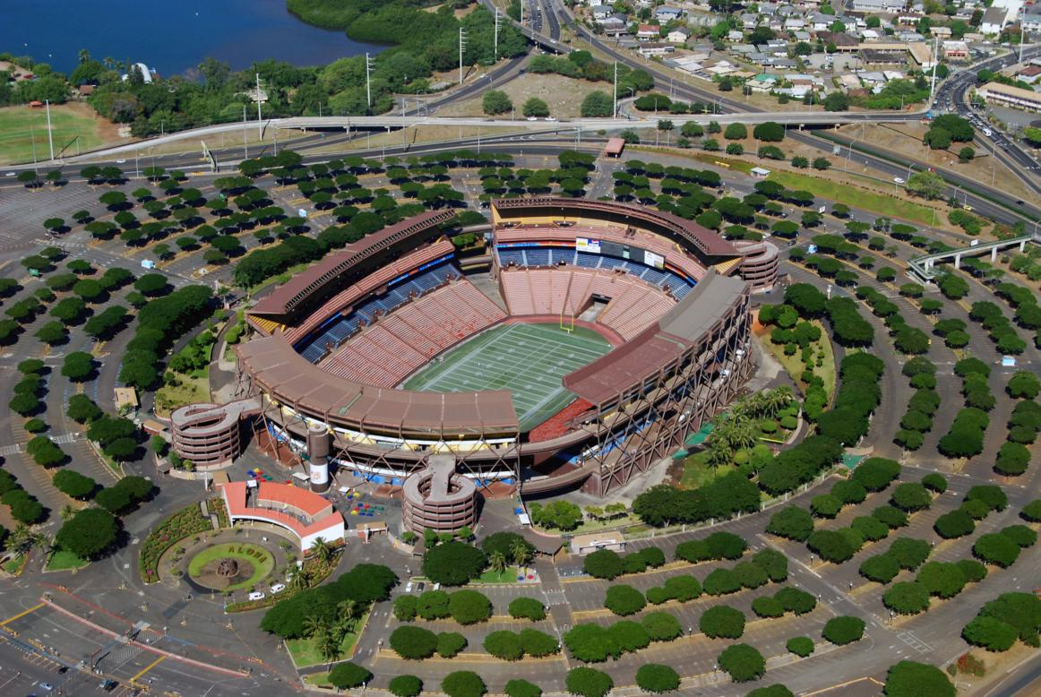 aloha stadium skyveiw