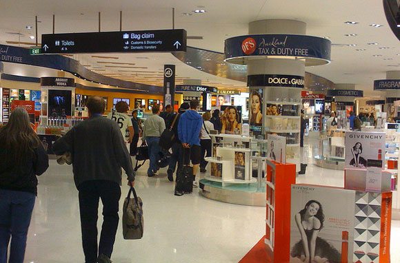 auckland airport inside