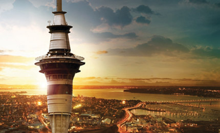 sky tower's, auckland