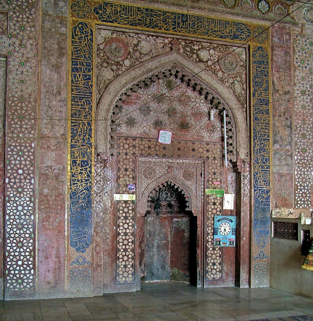 Jama Masjid Agra in fatehpur sikri interior