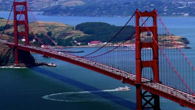 Golden Gate Bridge in united states of america