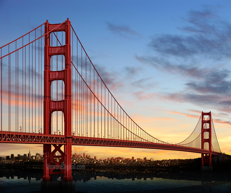 Golden-Gate-Bridge world longest bridge
