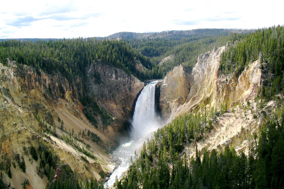 Yellowstone National Park in United States of America