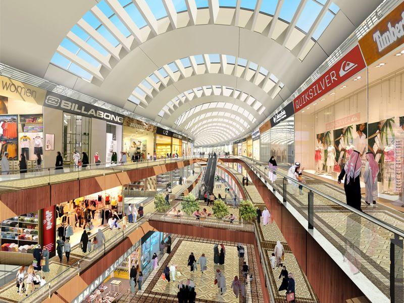 beautiful dubai mall inside