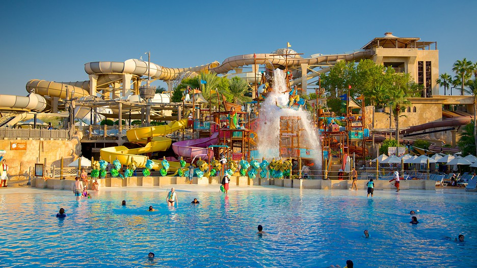 beautiful wild wadi water park in dubai